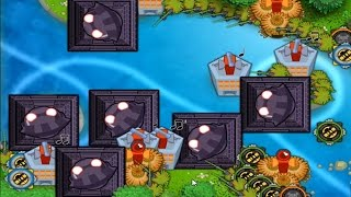 Bloons Monkey City - Contested Territory - 100 on Loop River - BMC