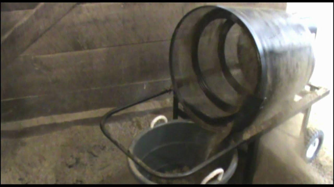 stall cleaning machine
