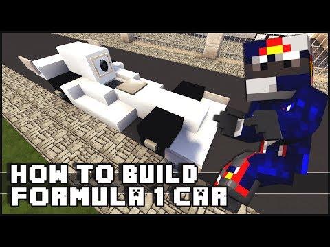 ► Minecraft : How to Make - Formula 1 Car