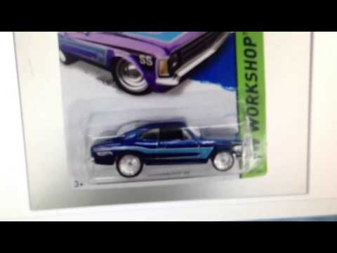 Hot Wheels 2014 Super Treasure Hunt Chevrolet SS Newest Picture!
