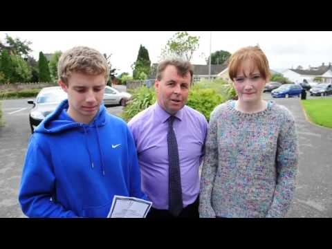 Leaving Cert reaction from Blackwater Community School