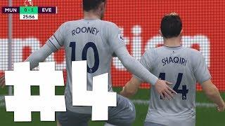 FIFA 18 Everton Kariyeri #4 - United'ı Old Trafford'da Deviriyoruz!