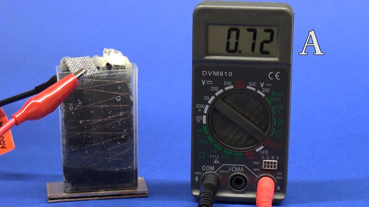 Алюминий воздушный аккумулятор своими руками
