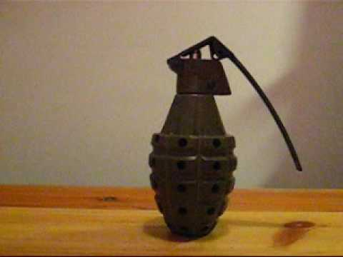 Snicker ACM 360 airsoft gas frag grenade