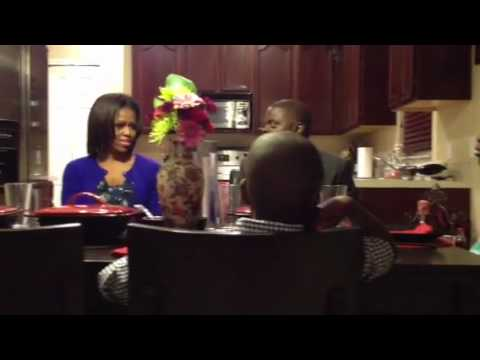 Traveling with Michelle Obama - Dinner with a Real Family in Orlando