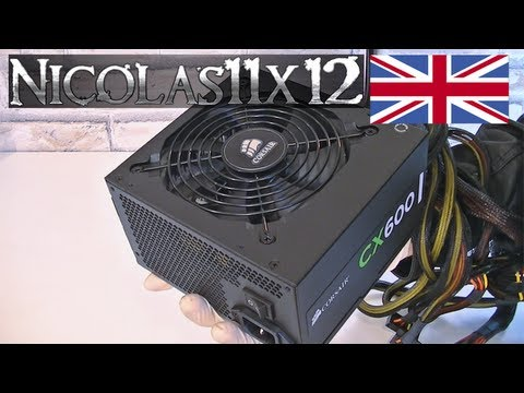 Corsair Builder Series CX600 80PLUS Bronze 600W Power Supply Review