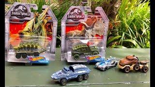 NEW Cars HOT WHEELS Jurassic World Fallen Kingdom Toy Collection - FUN Dinosaur Toys at Balboa Park