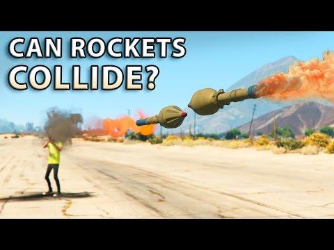 GTA V - Can Rockets Collide?