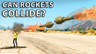 GTA V - Can Rockets Collide?
