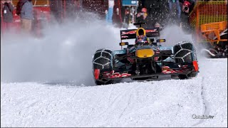 Max Verstappen Runs F1 Car Through Snow | Xtreme CollXtion