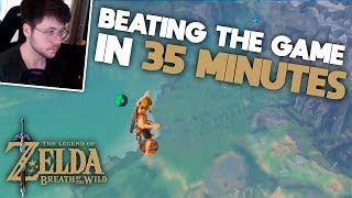 How to beat Breath of the Wild in 35 MINUTES (Fully Commentated Any% Speedrun)