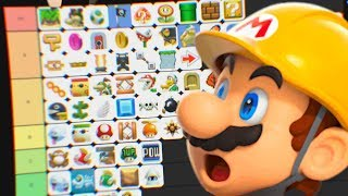 ALL SUPER MARIO MAKER ITEMS TIER LIST!