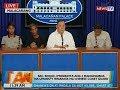 BT: Sec. Roque, iprinisinta ang 3 mangingisda na umanoy hinarass ng Chinese Coast Guard