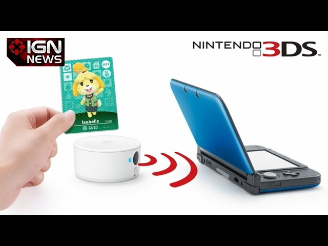 Nintendo 3DS NFC Reader Gets a North American Release Window - IGN News