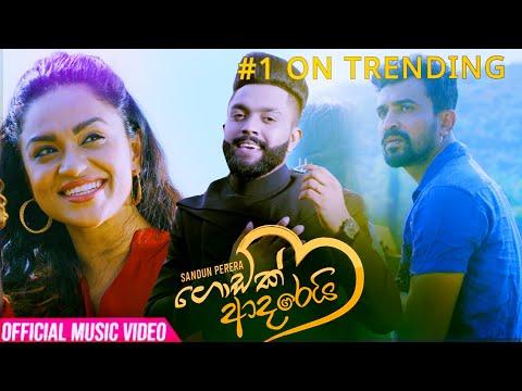 Godak Adarei (ගොඩක් ආදරෙයි) Sandun Perera | Official Music Video 2020