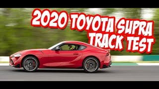 New Car Review: 2020 Toyota Supra Track Test!