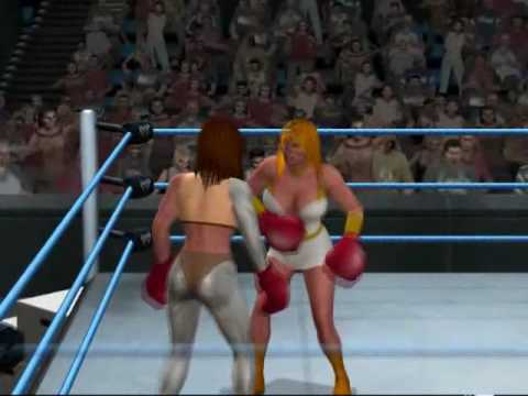 Boxing - She-ra vs Bionic Woman (HD) Video
