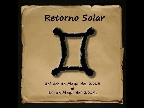 Horóscopo Géminis 2013-2104 (Revolución Solar)