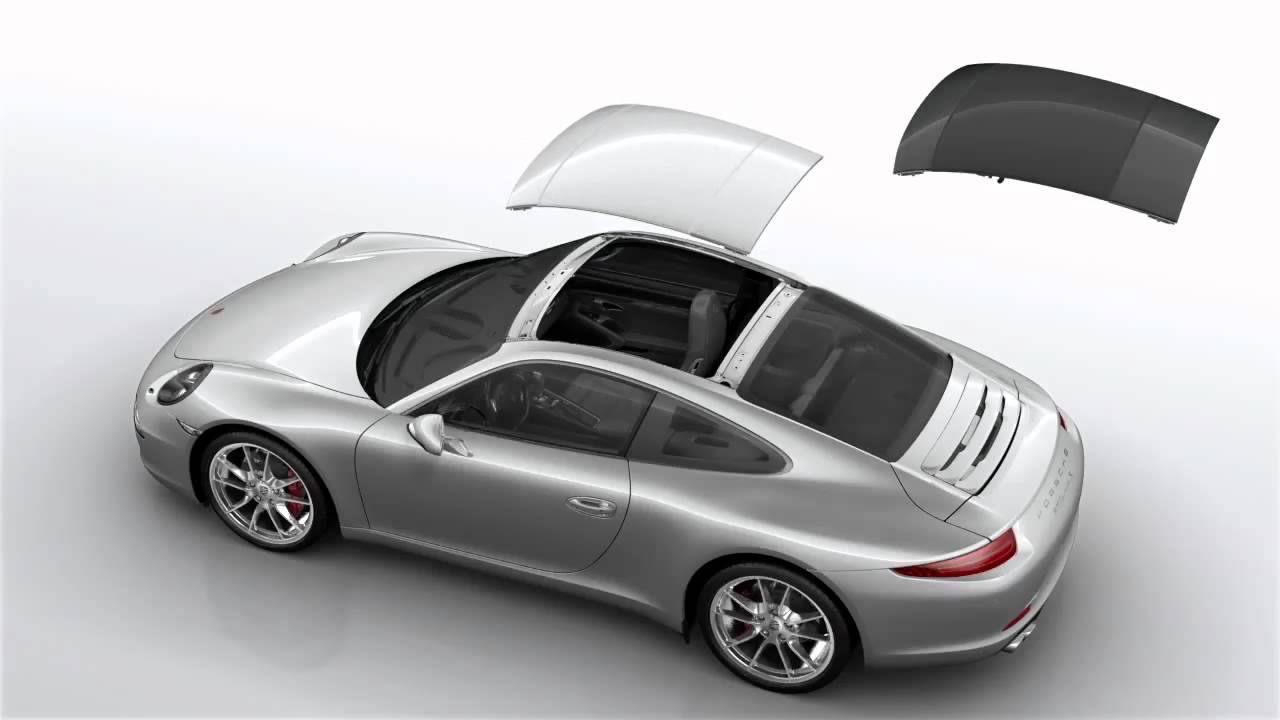 Porsche 991 Roof System Youtube
