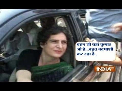 Amethi Police Refuses To File Aap Leader Kumar Vishwas' Fir Against Priyanka Vadra video