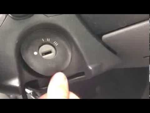 How to get a Vauxhall Ignition Out