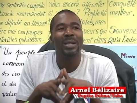 Arnel Bélizaire à sa 6ème journée de grève de la faim Il se dit déterminé à poursuivre la grève Publié le dimanche 27 juillet 2014 Le député Arnel Bélizaire ...