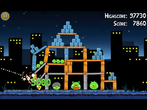 Official Angry Birds walkthrough for theme 7 levels 6-10