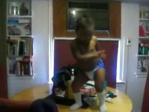 Baby Doing Tha Stanky Leg Hella Funny  Follow Me thetruejohndoe video
