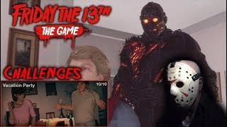 Friday the 13th the game - Gameplay 2.0 - Challenge 10 - Savini Jason