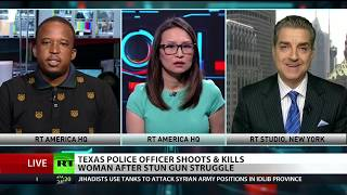 Explosive debate on police brutality in America