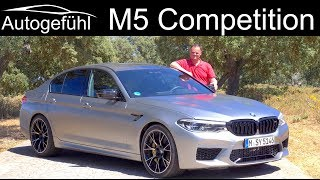 BMW M5 Competition FULL REVIEW 5-Series M 2019 - Autogefühl
