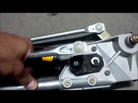 How to install replace windshield wiper motor and linkage for How do you replace a windshield wiper motor