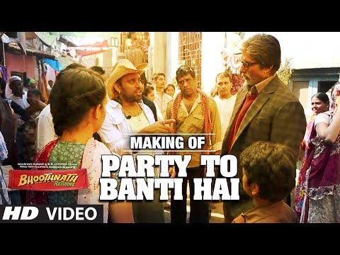 Song Making: Party Toh Banti Hai | Bhoothnath Returns | Amitabh Bachchan| Meet Bros Anjjan | Mika video