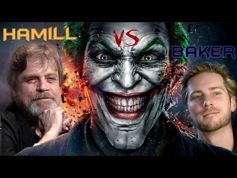 Joker Voice - Mark Hamill VS Troy Baker