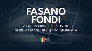 Serie A1M [10^]: Fasano - Fondi 33-23
