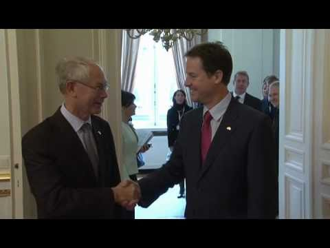 With UK Deputy Prime Minister, Nick Clegg