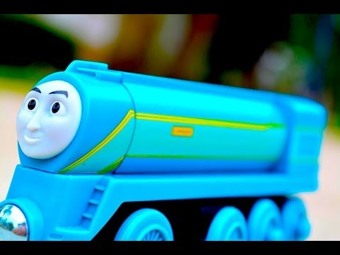 2013 Thomas The Tank Engine & Friends CONNOR - King Of The Railway Wooden Toy Fisher Price Train
