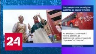 Петербург поддержал сборную России гигантским хороводом - Россия 24