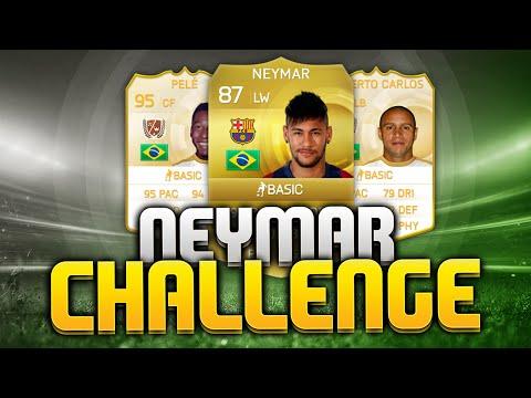De NEYMAR CHALLENGE?!! FIFA 15 Punten Challenge
