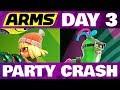 Lagu ARMS Party Crash DAY 3 Min Min Vs Helix!