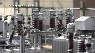 A wide range of testing facilities