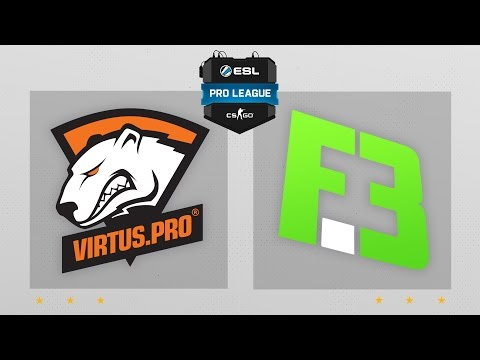 CS:GO - Virtus.Pro Vs. Flipsid3 [Train] Map 2 - ESL Pro League Season 4 - EU Matchday 22