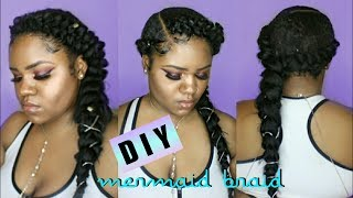 DIY Butterfly Braid Tutorial | Flawless Britny