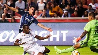 GOAL: Cristian Pavon scores his second goal with the LA Galaxy to put them ahead