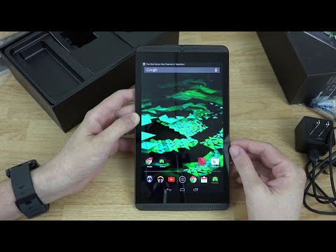 NVIDIA Shield Tablet Unboxing and First Look!