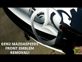 Download HOW TO REMOVE FRONT EMBLEM ON MAZDASPEED3 GEN2 AND PLASTIDIP SPRAY QUICK GUIDE in Mp3, Mp4 and 3GP