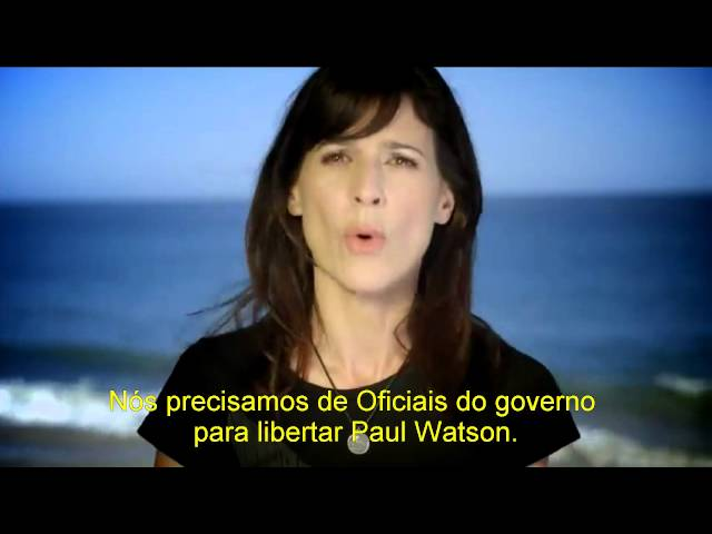 Perrey Reeves pede pela liberdade de Paul Watson