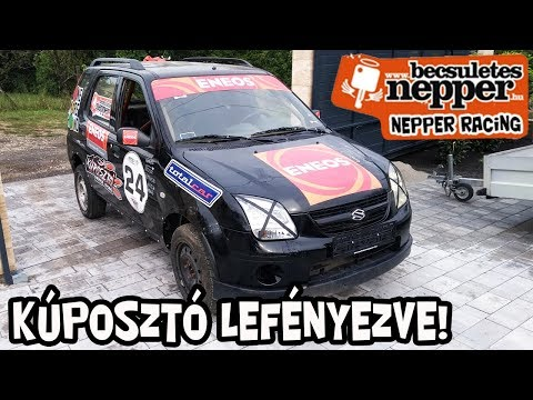 Nepper Racing - Kúposztó fényezés tutorial