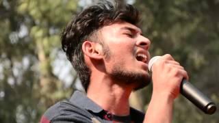 Aadat Live - Ayush Upadhyay at GFF 2016 Marwah Studio