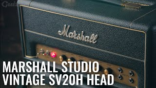 Marshall Studio Vintage SV20H Head Demo & Review | Guitar.com